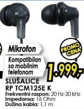 Slušalice Rp Tcm125e K