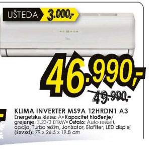 Klima inverter MS9A-12HRDN1 A3