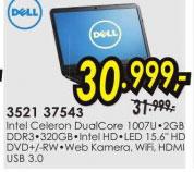 Laptop Inspiron 3521 37543