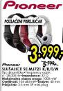 Slušalice SE-MJ721-W