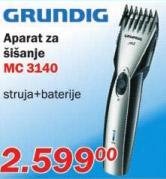 Aparat za šišanje Mc 3140
