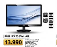 """MONITOR LED TFT 23"""" V-line 236V4LAB/00 Full HD"""