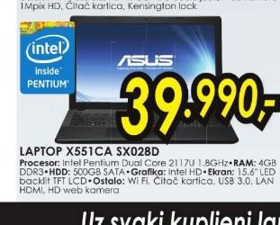 Laptop Asus X551CA-SX028D