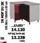 Kuhinjski element InMdf Du 2k