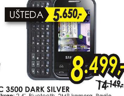 Mobilni Telefon C 3500 DARK SILVER