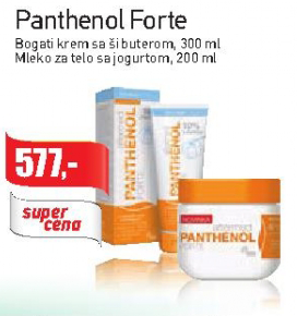 Panthenol Forte mleko za telo sa jogurtom