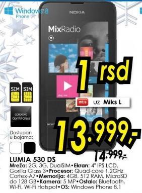 Mobilni telefon Lumia 530 Ds