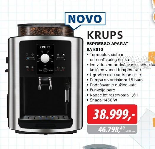 Aparat za espresso EA 8010