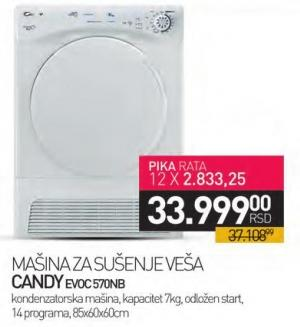 Mašina za sušenje veša Evoc 570nb