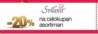 20% popusta na celokupan asortiman u Svilanit