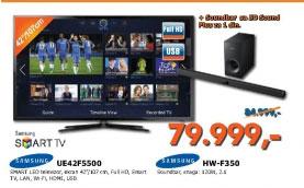 LED Televizor UE42F5500 + SoundBar za 1din.
