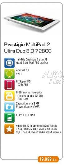 tablet MultiPad 2 Ultra Duo 8.0 7280C