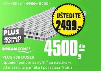 Dušek, Plus F30