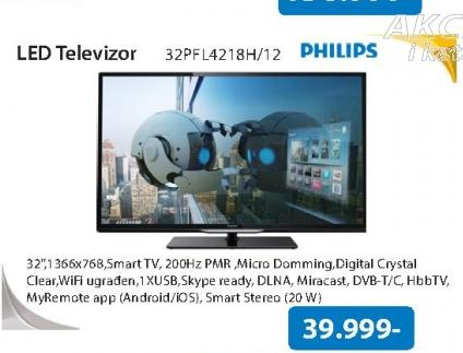 Televizor LED 32PFL4218H/12