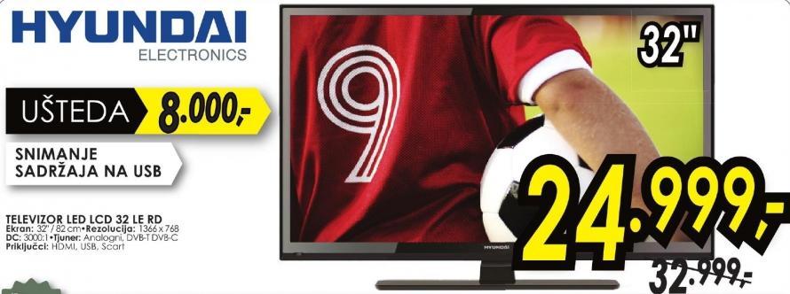 """Televizor LED 32"""" 32 Le Rd"""