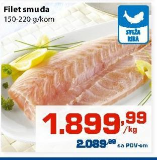 Riba smuđ filet