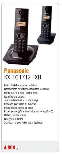 Telefon KX-TG1712 FXB