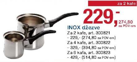 Inox džezva
