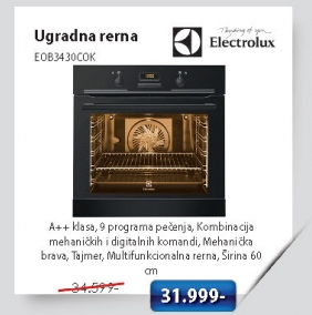 Ugradna Rerna Eob3430Cok