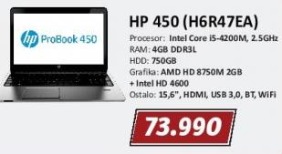 Laptop 450 H6r47ea