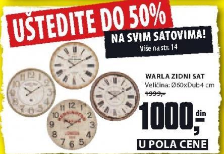 Uštedite do 50% na svim satovima