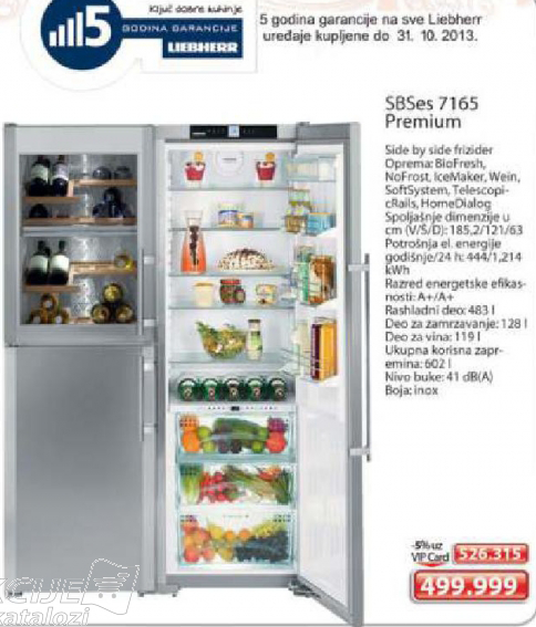 Frižider SBSes 7165 Premium
