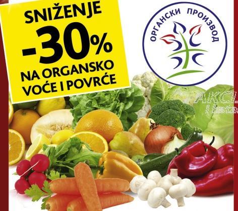 Organsko voće i povrće