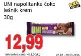 Napolitanke čoko-lešnik Nutty
