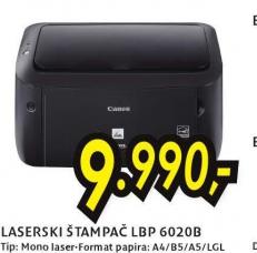 Laserski štampač LBP-6020B