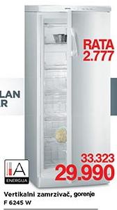 Zamrzivač vertikalni  F6245W