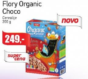 Pahuljice Flory Organic choco