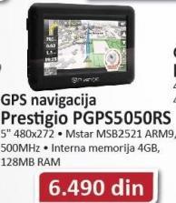GPS navigacija PGPS505RS