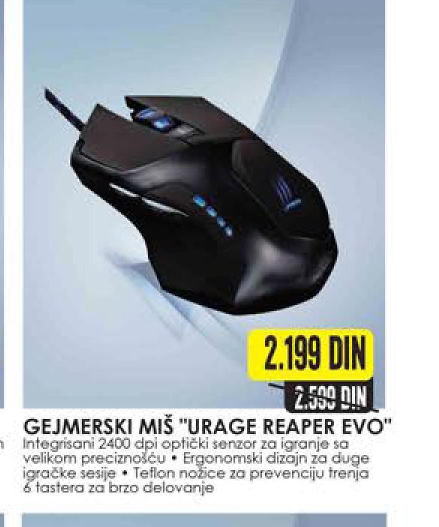Miš Urage reaper evo