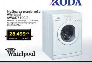 Veš mašina AWO/D 7100/2