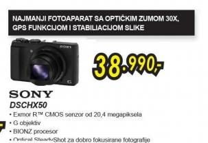 Digitalni fotoaparat Cyber-shot DSC-HX50B