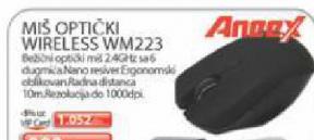 Miš optički wireless WM 223