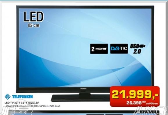 "LED TV 32""T 32TX 182DLBP"