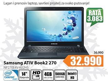 Laptop ATIV Book2 270 NP270E5V-K02HS
