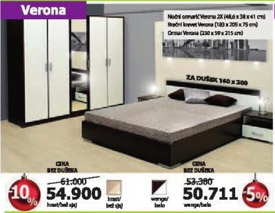 Spavaća soba Verona