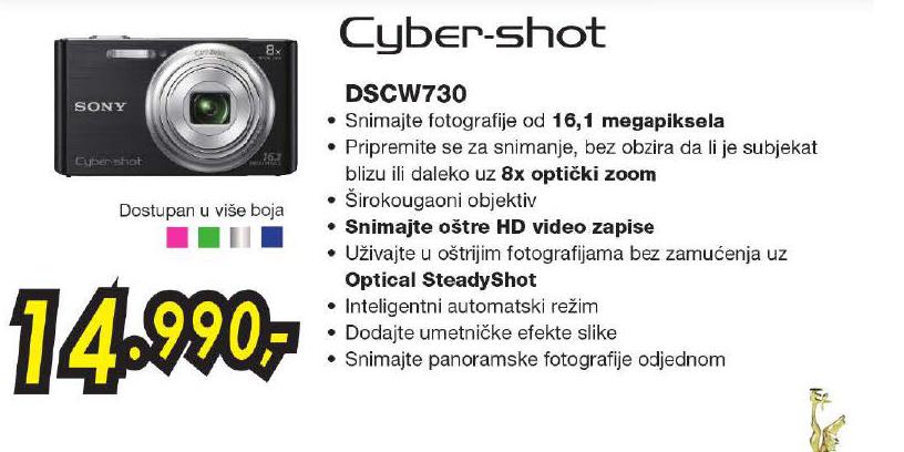 Fotoaparat Dsc - W730
