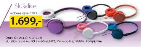Slušalice OFA SV 5330