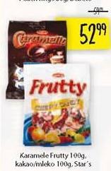 Bombone karamela Frutty