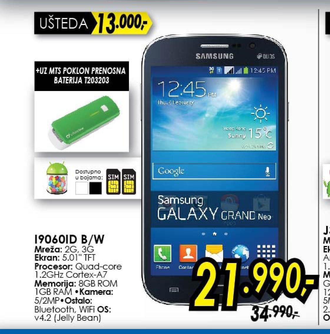 Mobilni telefon  I9060 Dual Sim