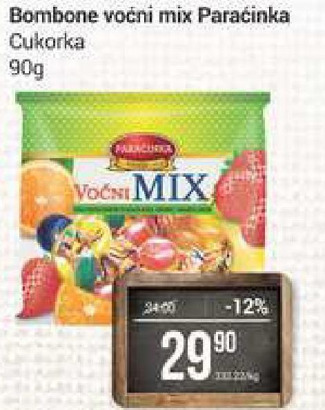 Bombone voćni mix