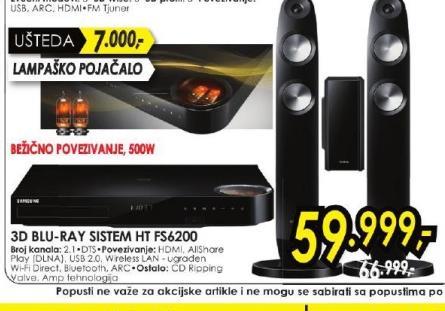 Bly-ray sistem HT-FS6200