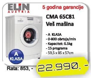 Veš Mašina Cma 65C81