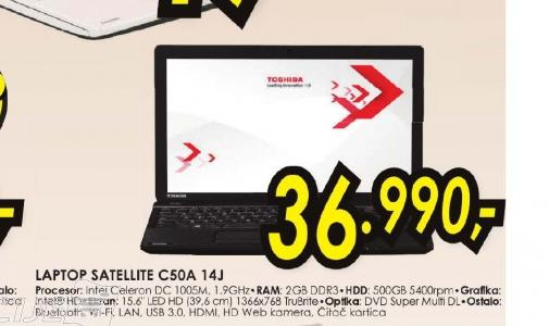 Laptop Satellite C50A-14J