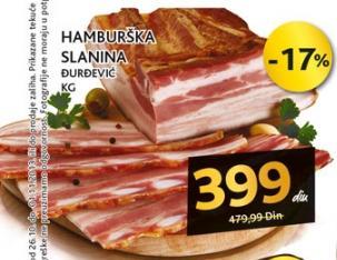 Slanina Hamburška
