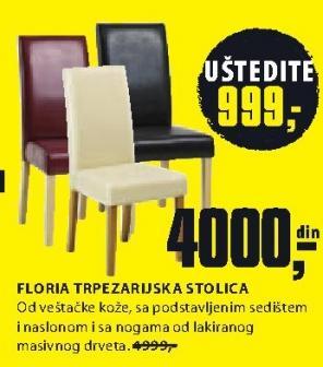 Trpezarijska stolica Floria