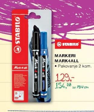 Markeri Mark4all